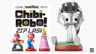 Using Amiibos with Chibi-Robo! Zip Lash