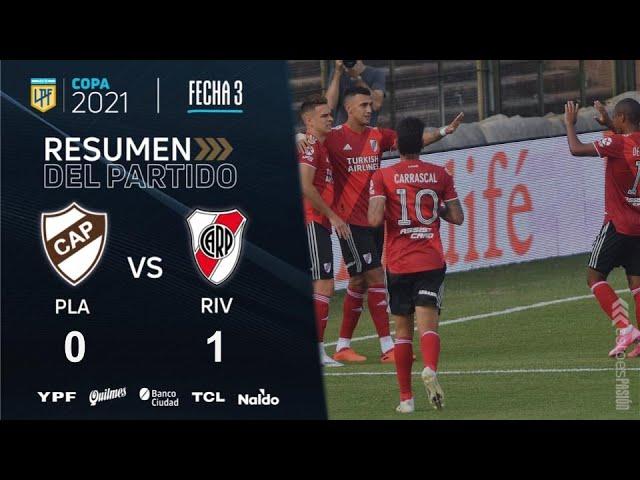 Copa De La Liga | Fecha 3 | resumen de Platense - River