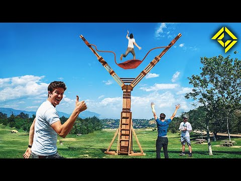 Worlds LARGEST Slingshot!