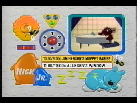 Nick Jr. Next ID's recorded on May 15, 1997