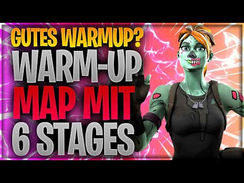 🤔🎢 GUTES WARMUP? Warm-UP mit 6 Stages | Fortnite Battle Royale