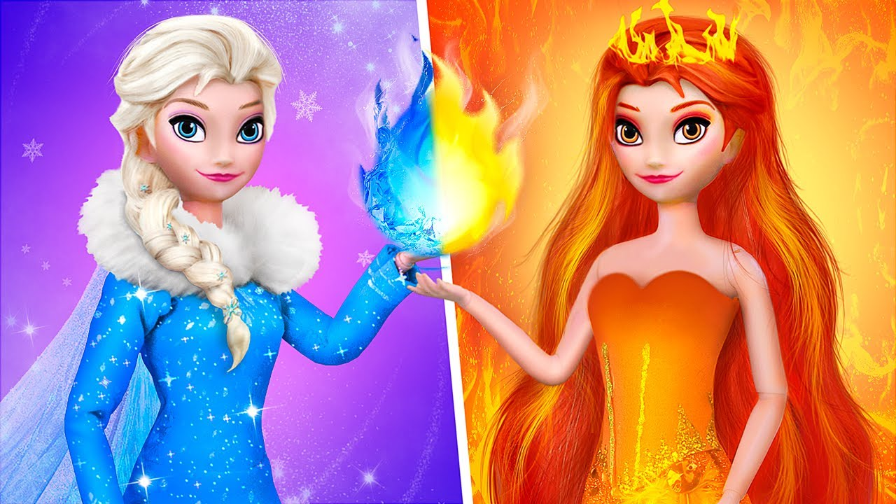 Astuces Et Bricolages Elsa et Anna / 10 DIY La Reine Des Neiges