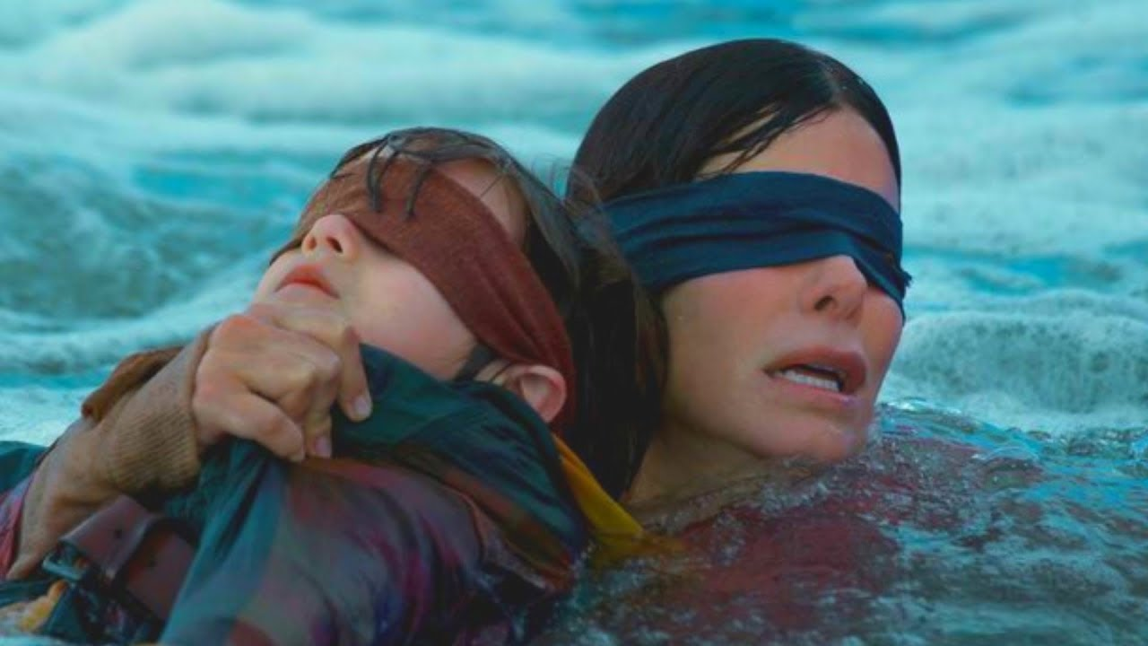 The Real Reason We Didn't See The Monsters In Bird Box