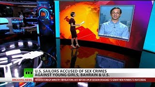 US Sailors Accused of Group Sex with Minor