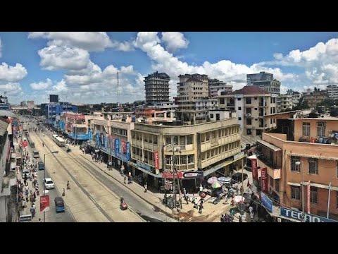 Kariakoo Streets, Dar es salaam Tanzania 2020