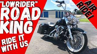 Custom Road King RIDE ALONG! For sale near Harrisburg PA Ape Hangers & 21 inch Wheel & Rear Air Ride