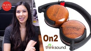 Thinksound On2 Monitor Series, Wooden Headphones