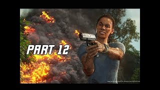 UNCHARTED THE LOST LEGACY Walkthrough Part 12 - Chopper (PS4 Pro Let's Play Commentary)