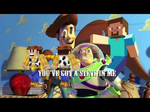 You've Got a Steve In Me - UP DOWN ALBUM (EPIC TOY STORY MINECRAFT PARODY ✔)
