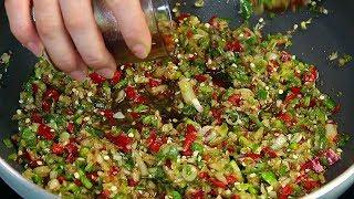 소고기 청양고추 볶음 만들기, 따뜻한 밥에 비벼 먹으면 최고!! 매콤한 청양고추볶음 만드는 법, 청양고추물 레시피