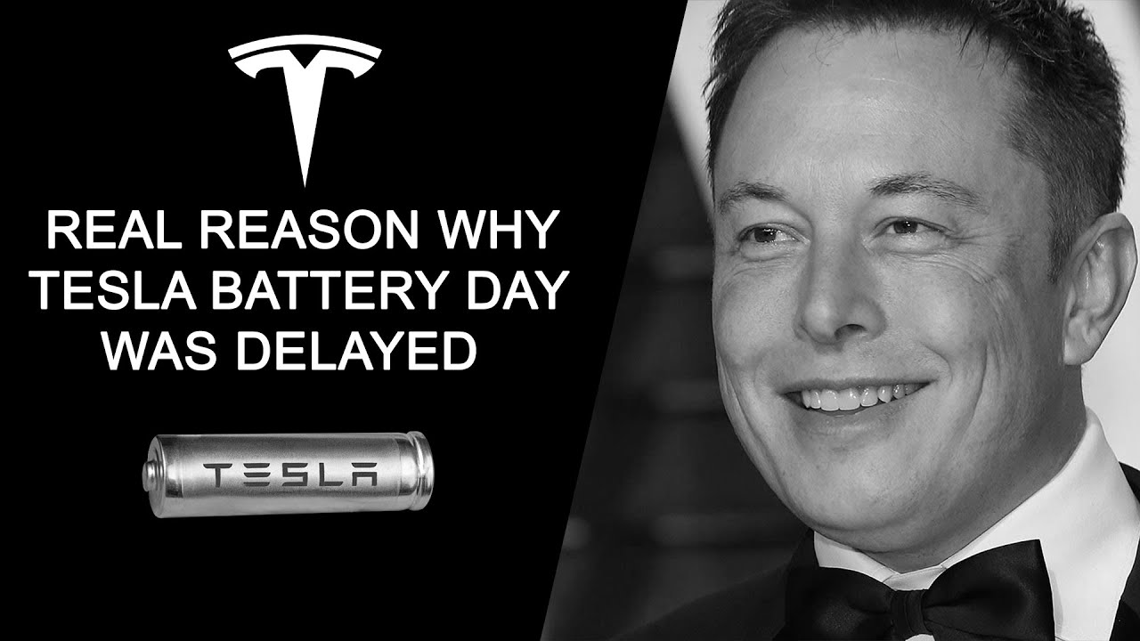 Real Reason Why Tesla Battery Day Was Delayed