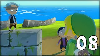 The Legend of Zelda Wind Waker HD Capítulo 8 - Jugando a las escondidas y Ka Bum XD