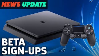 Sign-Ups For 'Major' PS4 System Update Beta Now Open - GS News Update