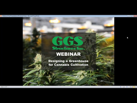 Webinar: Designing a Greenhouse for Cannabis Cultivation