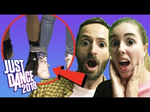 Can we dance with our legs taped together?! Just Dance Challenge!