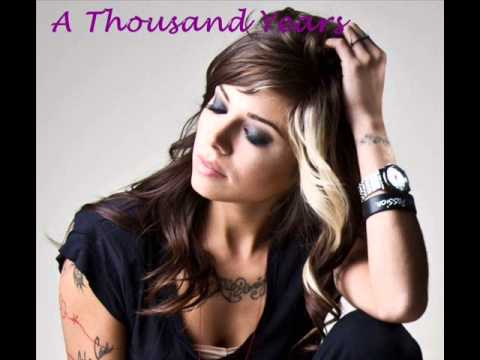 A thousand Years Christina Perri (FREE DOWNLOAD MP3 320KB)