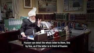 Huzoor's activities and Jalsa Salana