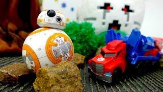 Трансформеры: спасение Оптимуса Прайма! Игрушки Minecraft, Star Wars и DC Comics. Игры для мальчиков