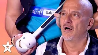 STRANGEST Cover Of 'Africa' Ever On Italy's Got Talent? | Got Talent Global