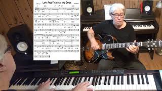 Let's Face The music and Dance - Jazz guitar & piano cover ( Irving Berlin )