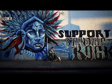 Native Americans stand by Standing Rock Sioux to defy corporate interests