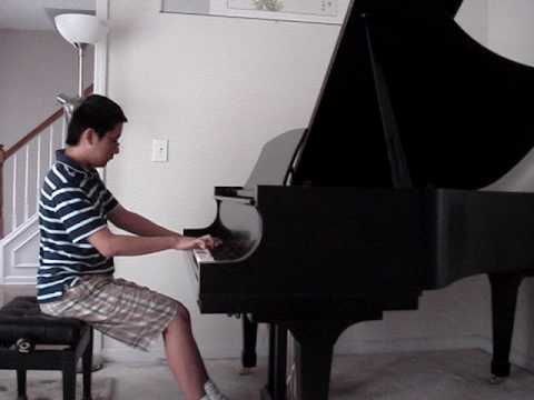 Mark Wang  plays Chopin Fantasie Impromptu, Op. 66 in C-sharp Minor