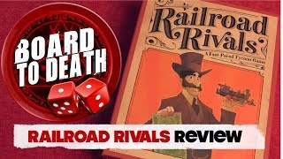 Railroad Rivals Board Game Video Review