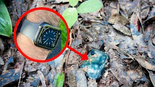 Restoration Abandoned Destroyed Apple Watch | Found Broken Apple Watch In The Old Bag In The Forest