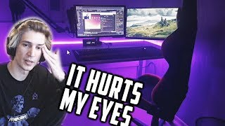 Stop with the LEDs! - xQc Reviews Viewer PC Setups | Episode 7