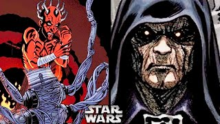 Why Didn't Palpatine Sense Darth Maul Survived After The Phantom Menace? (Legends)
