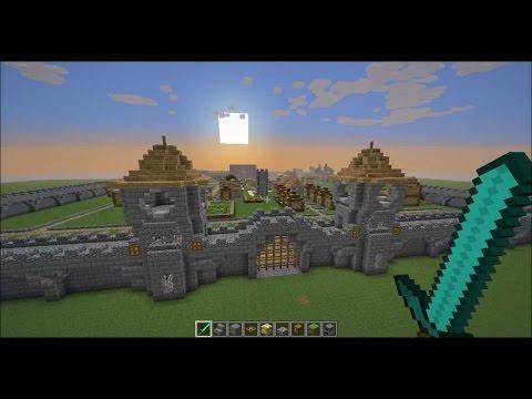 Спавн для Майнкрафт, Скачать готовую карту spawn minecraft