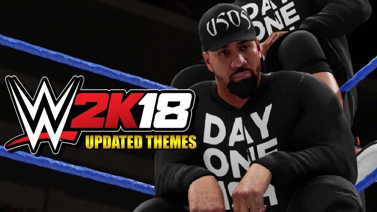 WWE 2K18 - 5 Updated Themes (Custom Entrances)