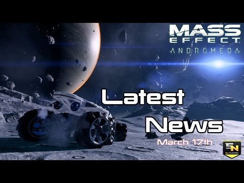 Thumbnail: Mass Effect Andromeda | Latest News (March 17th)- Reviews, Animations, Companion App, Rewards & More