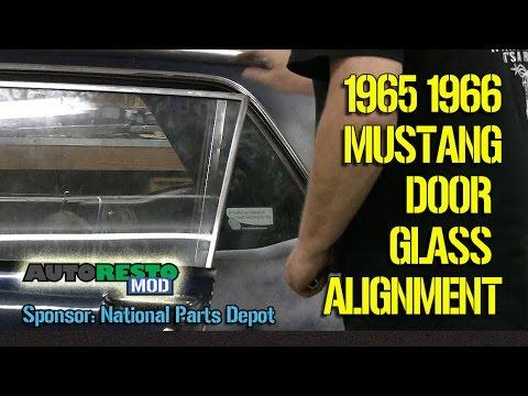 how to 1965 1966 mustang coupe hardtop window alignment episode 278 autorestomod 65 mustang steering wheel diagram 65 mustang door glass diagram #15