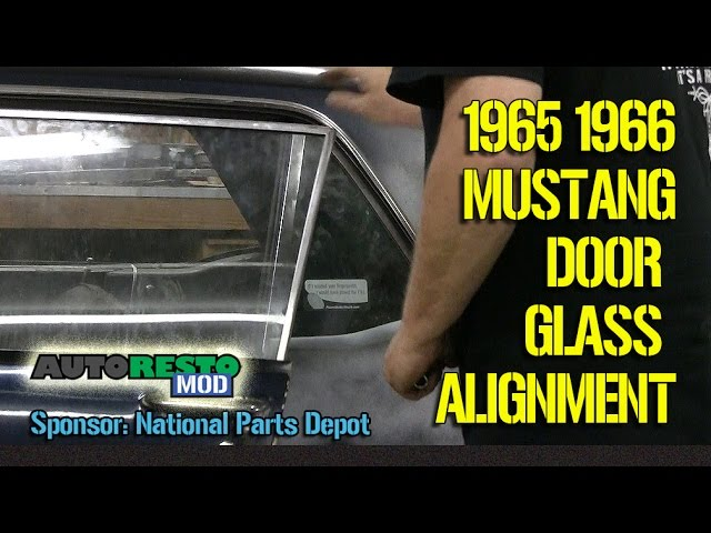 How To 1965 1966 Mustang Coupe Hardtop Window Alignment Episode 278 Autorestomod Youtube