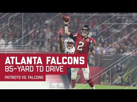 Matt Ryan Leads Falcons on 85-yard TD Drive! | Patriots vs. Falcons | Super Bowl LI Highlights