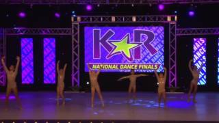 Kar nationals anaheim ca 2016. lyrical small group ages 7-8 minis