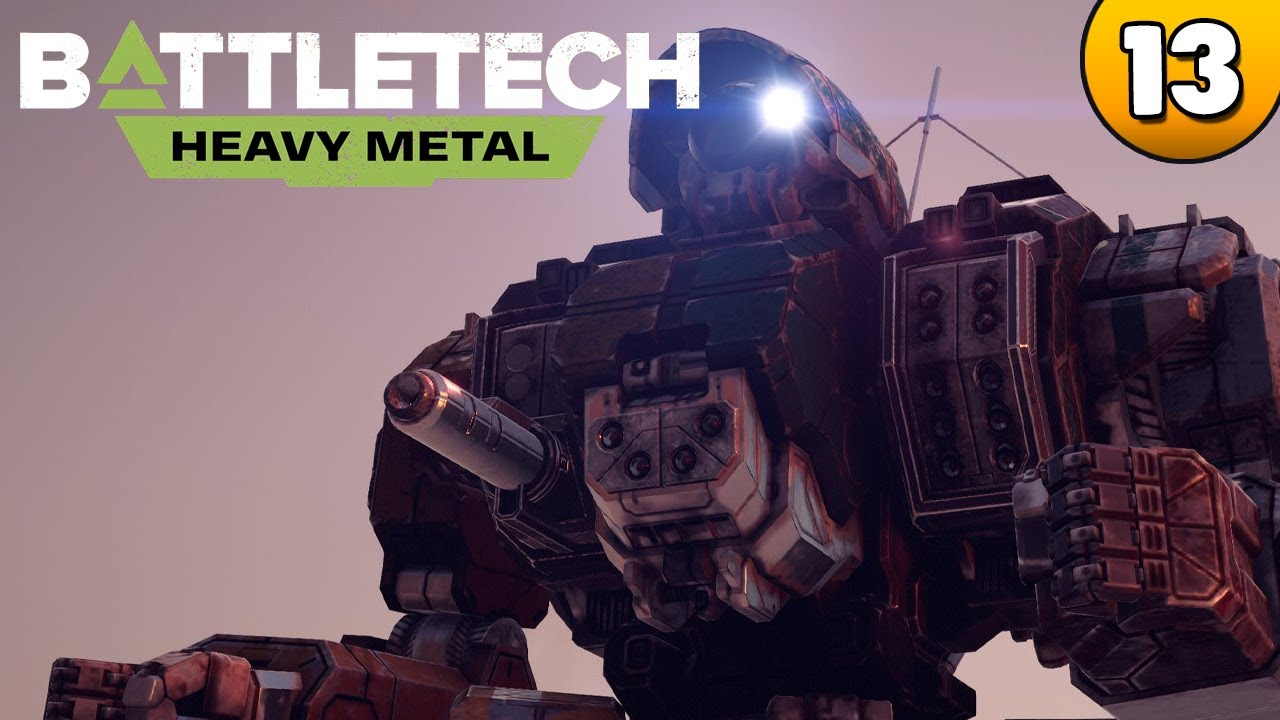 BATTLETECH Heavy Metal - Lagerbestand 👑 #013 [Deutsch/German][Gameplay] - YouTube