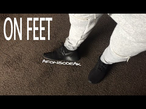 fcf69c3a6844 Nike Roshe One (ALL BLACK) ON FEET - YouTube