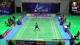 Tunggal Putri Final Sri Fatmawati (INA) vs Eoon Qi Xuan (MAS)- Malaysia International Series