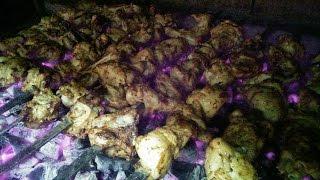 Очень вкусный Шашлык из Курицы(просто,вкусно)