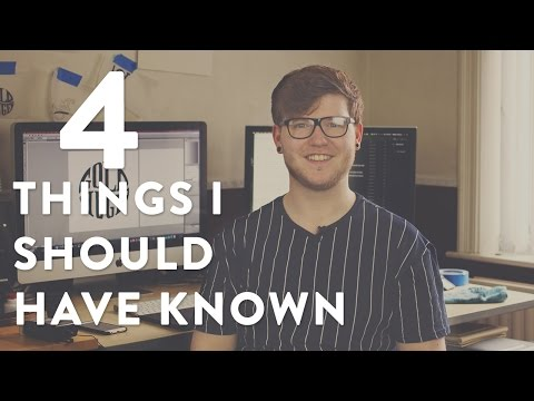 4 Things I Wish I Knew When I Started Logo Design