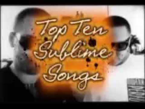 Top Ten Sublime Songs