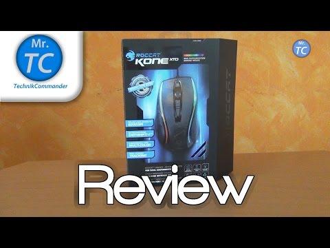 Roccat Kone XTD Gaming Maus Review + Installation HD (Deutsch/German) - MrTechCommander