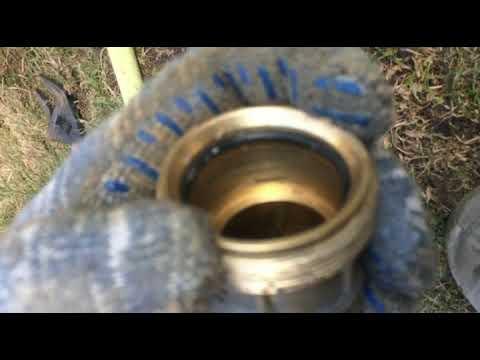 Как правильно устанавливать латунную муфту на ПНД трубу
