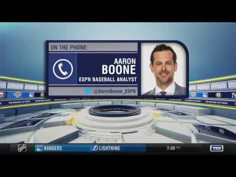 2017 World Series Game 7 breakdown with Aaron Boone