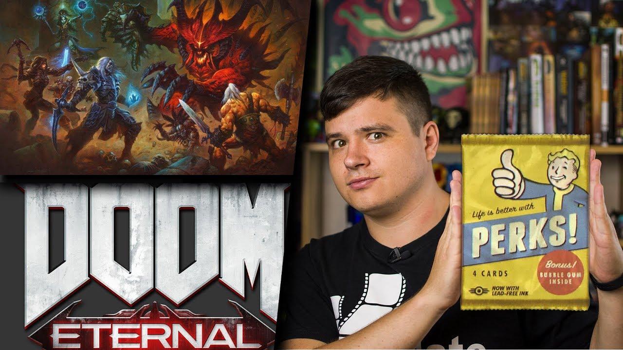 Diablo не умерло! Геймплей DOOM Eternal и Red Dead Redemption 2 | xDigest