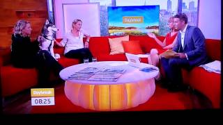 Anna Williams (share Rescue) And Husky Bailey On Daybreak 16072012.mp4
