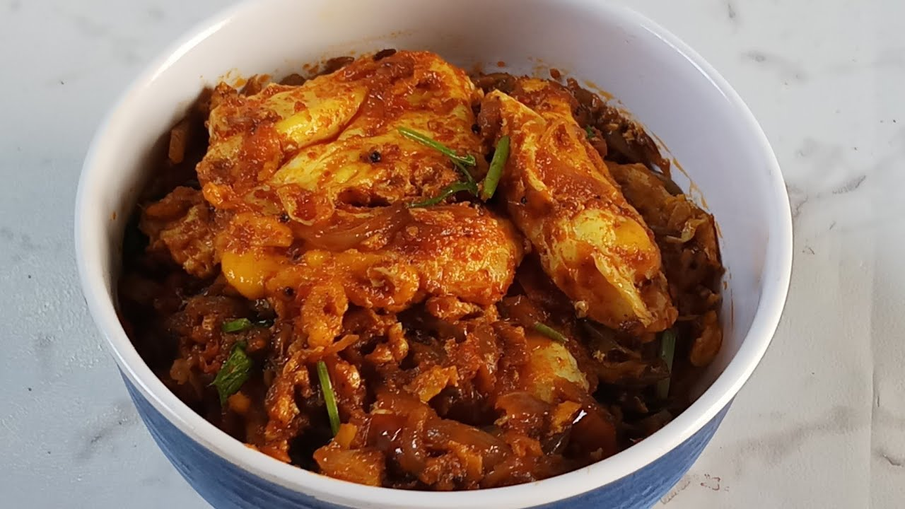 Download Egg curry / simple egg recipe under 15 mins/ Side dish for chappathi & variety rice in tamil