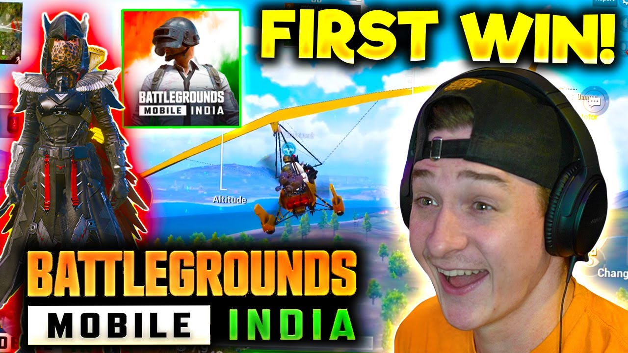My FIRST GAME on BATTLEGROUNDS INDIA (BGMI) 🇮🇳